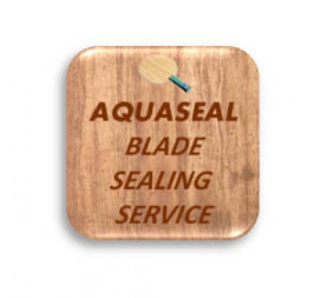 Aquaseal Table Tennis Blade Sealing Service