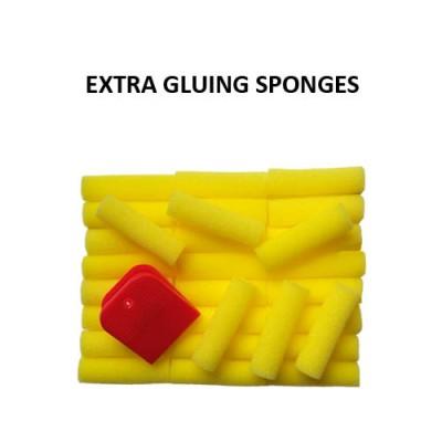 Aquatec Table Tennis Rubber Adhesive Glue Extra Sponges X 30