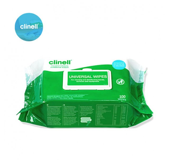 Clinell Universal Wipes x 100
