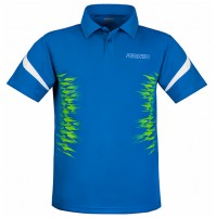 Donic Air Table Tennis Match Shirt Blue Danube