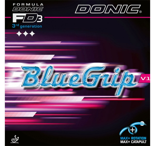DONIC Bluegrip V1 Table Tennis Rubber