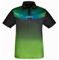 Donic Boost Table Tennis Match Shirt Lime/Black
