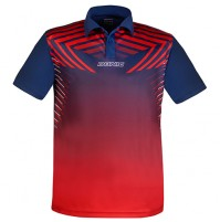 Donic Boost Table Tennis Match Shirt Red/Navy