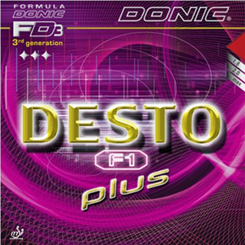 Donic Desto F1 Plus Table Tennis Rubber
