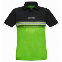 Donic Draft Table Tennis Match Shirt Black/Lime