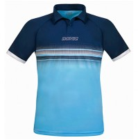 Donic Draft Table Tennis Match Shirt Navy/Light Blue