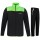 DONIC Final Table Tennis Tracksuit Black/Lime