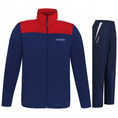 DONIC Final Table Tennis Tracksuit Navy/Red