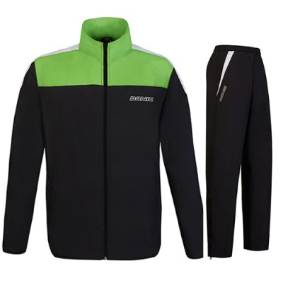 DONIC Fuse Table Tennis Tracksuit Black/Lime