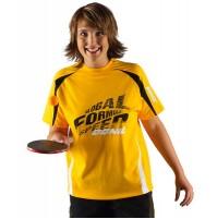 DONIC Global Florida Table Tennis Shirt Yellow Now £10.00 !