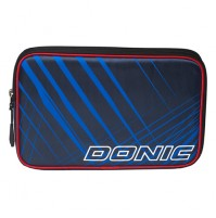 DONIC Invert Table Tennis Bat Wallet Case Double Navy