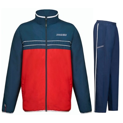 DONIC Laser Table Tennis Tracksuit Navy/Red