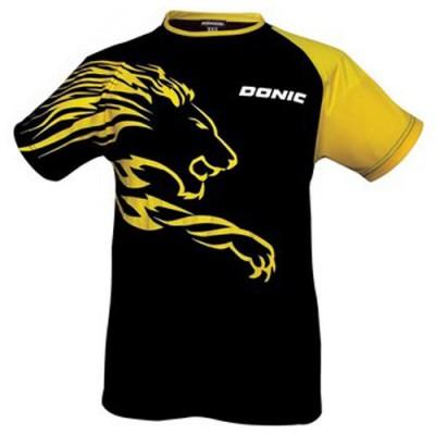 Donic Lion Table Tennis Shirt Black/Yellow