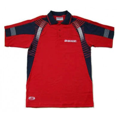 DONIC Manga Table Tennis Shirt Red NOW £14.99 !
