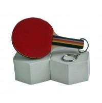 DONIC Mini Table Tennis Bat Keyring