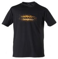 DONIC Promo Logo Table Tennis T-Shirt Black/Orange