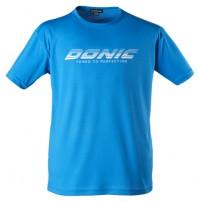 DONIC Promo Logo Table Tennis T-Shirt Cyan