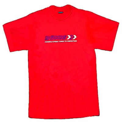 DONIC Table Tennis Training T-Shirt Red NOW £4.99 !