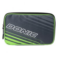DONIC Scudo Table Tennis Bat Wallet Case Single Anthracite