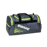 DONIC Sector Table Tennis Sports Holdall Bag Anthracite/Lime