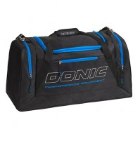 DONIC Sentinel Table Tennis Sports Holdall Bag Black/Cyan