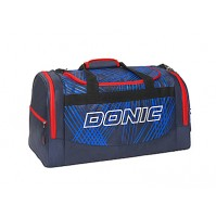 DONIC Spectrum Table Tennis Sports Holdall Bag Navy/Red