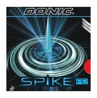 DONIC Spike P2 Table Tennis Rubber Long Pimples-Out