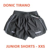 DONIC Tirano Table Tennis Shorts JUNIOR Grey NOW £5.00 !