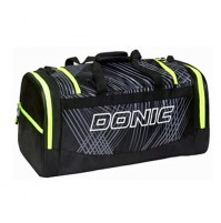 DONIC Ultimate Table Tennis Sports Holdall Bag Black/Yellow