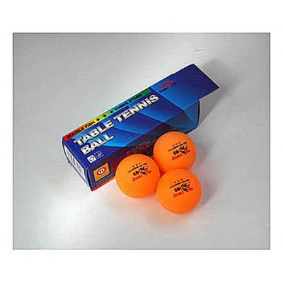 Double Fish Table Tennis Balls Three Star Orange x3 NOW ONLY £1.99 !