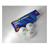 Double Fish Table Tennis Balls Three Star White x3 NOW ONLY £1.99 !