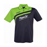 Gewo Hype XT Pro Table Tennis Shirt Anthracite/Lime