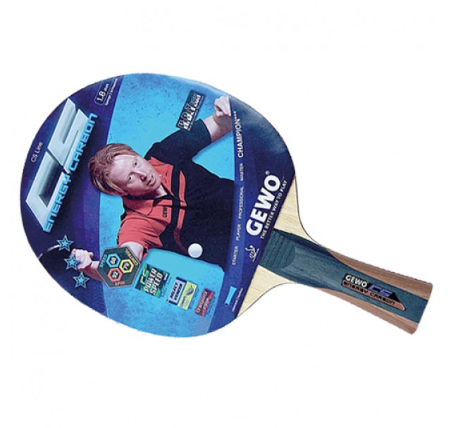 Gewo CS Energy Carbon Table Tennis Bat