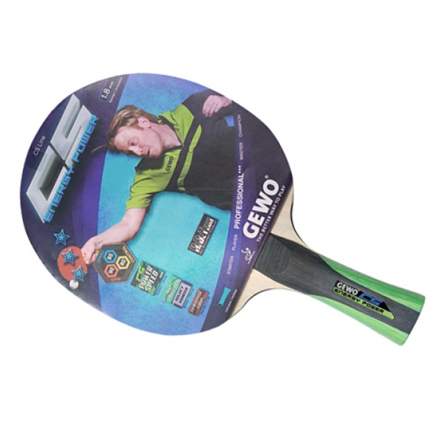 Gewo CS Energy Power Table Tennis Bat