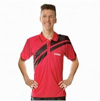 Gewo Drive Table Tennis Shirt Red/Black