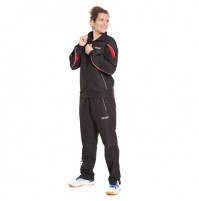 Gewo Finn Table Tennis Tracksuit Black/Red