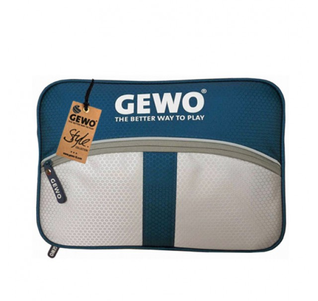 Gewo Game M Table Tennis Bat  Wallet Case Dark Blue/Light Grey
