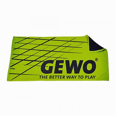 Gewo Game Table Tennis Sports Towel Green/Black NOW ONLY £9.95 !
