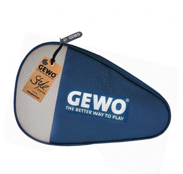 Gewo Game Round Table Tennis Bat Case Dark Blue/Light Grey