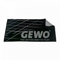Gewo Game Table Tennis Sports Towel Black/Silver XL