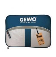 Gewo Game XL Table Tennis Bat Wallet Case Dark Blue/Light Grey