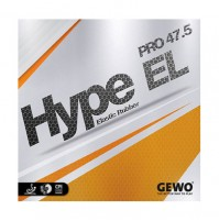 Gewo Hype EL Pro 47.5 Table Tennis Rubber - NEW
