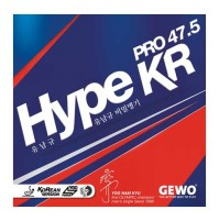 Gewo Hype kr Pro 47.5 Table Tennis Rubber - NEW