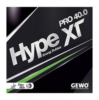 Gewo Hype XT Pro 40.0 Table Tennis Rubber