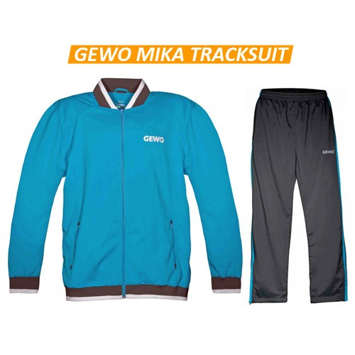 Gewo Mika Table Tennis Tracksuit Blue Anthracite