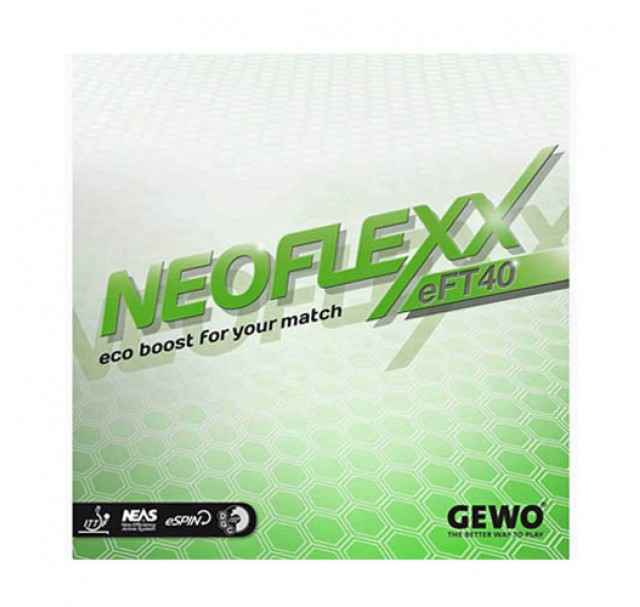 Gewo Neoflexx eFT 40 Table Tennis Rubber NEW