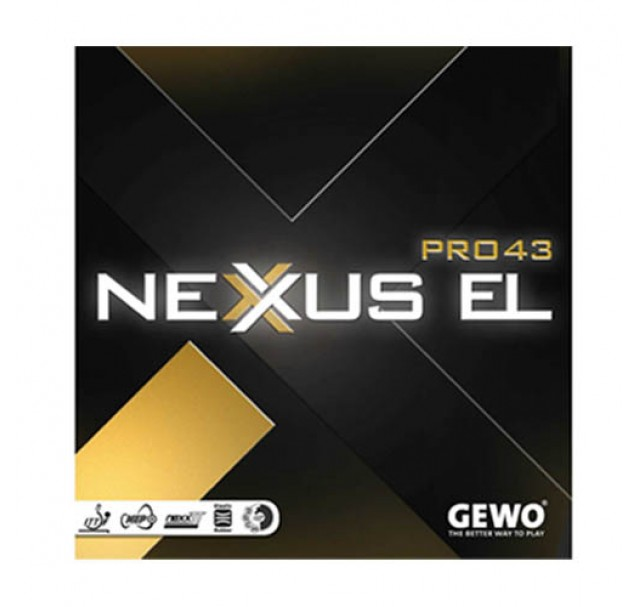 Gewo Nexxus EL Pro 43 Table Tennis Rubber - £35.90 !