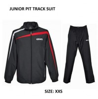 Gewo Pit Table Tennis Tracksuit Blacl/Red Junior Size NOW ONLY £39.90 !