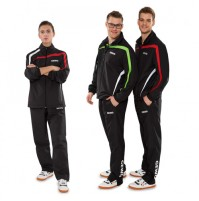 Gewo Pit Table Tennis Tracksuit Black/Red