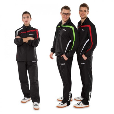 Gewo Pit Table Tennis Tracksuit Black/Red XXS NOW £49.50 !